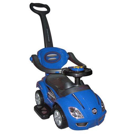 Masinuta copii 3 in 1 Mega Car Albastra