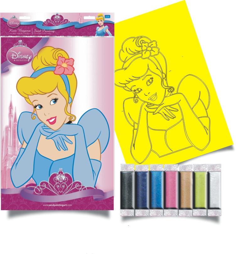 Plansa pictura nisip L Cenusareasa  Disney
