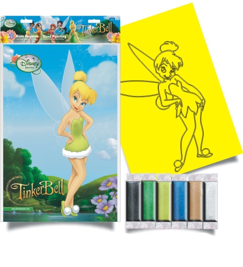 Plansa pictura nisip L Clopotica Disney