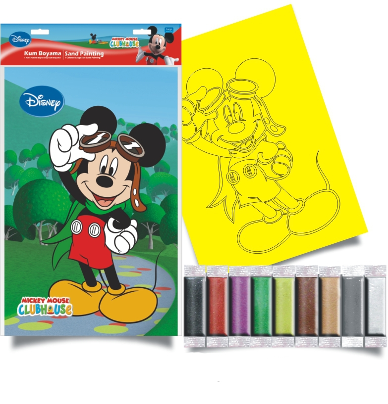 Plansa pictura nisip L Micky Mouse 4 Disney