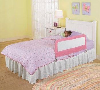 Protectie pliabila pentru pat Pink imagine