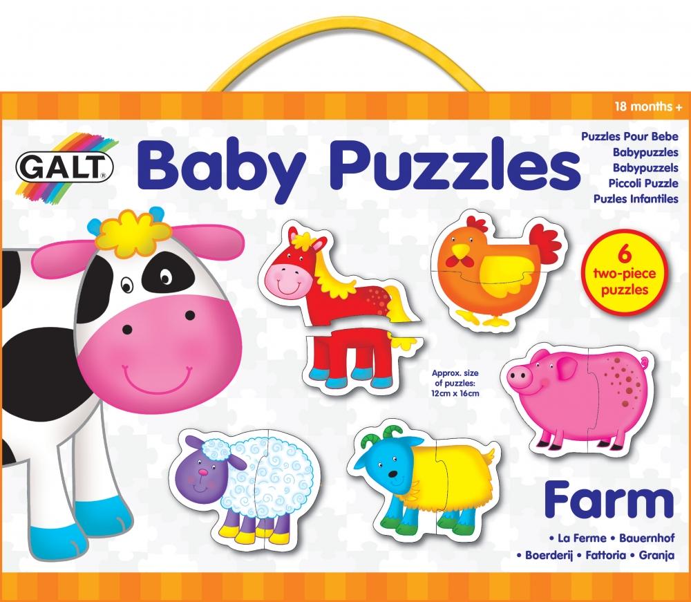 Puzzle animale de la ferma Baby Farm