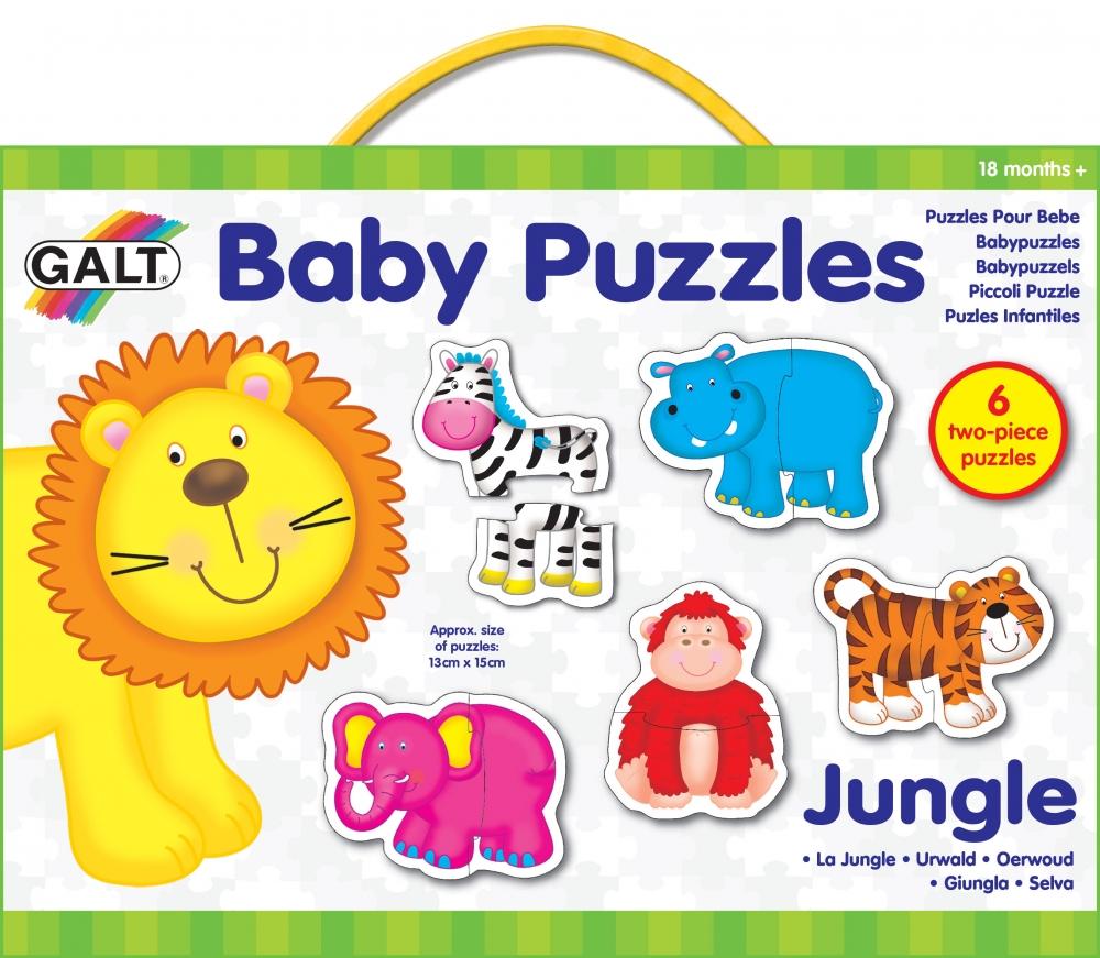 Puzzle animale din jungla Baby Puzzle Ju