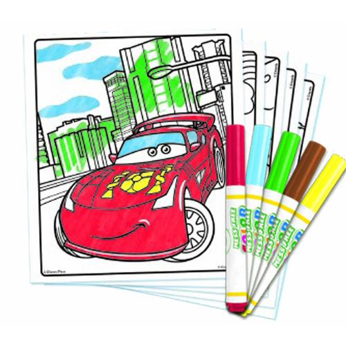 Set Carte de Colorat Cars