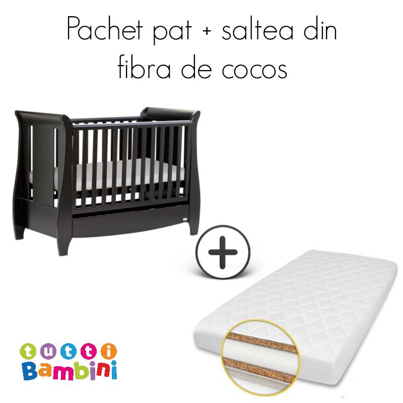 Set patut + salteluta pentru bebelusi Lucas Expresso Tutti Bambini