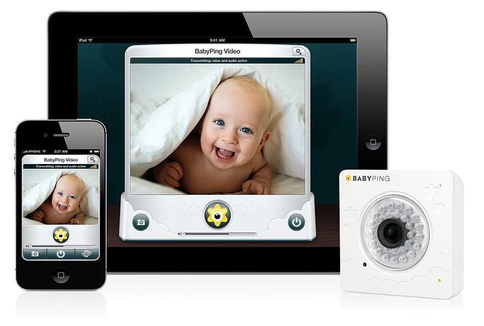 Video monitor pt iPhone, iPad,iTouch