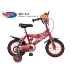 Bicicleta pentru baieti Disney Cars 12 inch