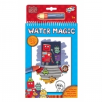 Carte de colorat Apa magica Roboti Water magic Robo Crew