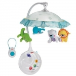 Carusel musical cu proiector Smart Baby Animals