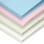 Cearsaf cu elastic jerse alb 120/60 cm