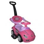 Masinuta copii 3 in 1 Mega Car Roz