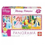 Puzzle Panorama Printesele Disney 100 de piese