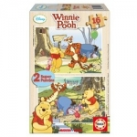 Puzzle Winnie the Pooh 2 x 16