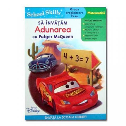 Carte Cars 2 - Sa Invatam Adunarea cu Fulger McQueen