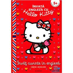 Carte Hello Kitty - Invat Cuvinte in Engleza