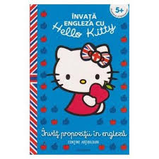 Carte Hello Kitty - Invat Propozitii in Engleza