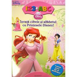 Carte Invata Cifrele si Alfabetul cu Printesele Disney