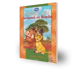 Carte de Colorat - Aventuri cu Simba