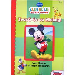 Carte de Colorat - Joaca-te cu Mickey