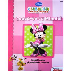 Carte de Colorat - Joaca-te cu Minnie