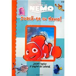Carte de Colorat - Joaca-te cu Nemo