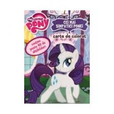 Carte de Colorat My Little Pony - Cei mai Simpatici Ponei