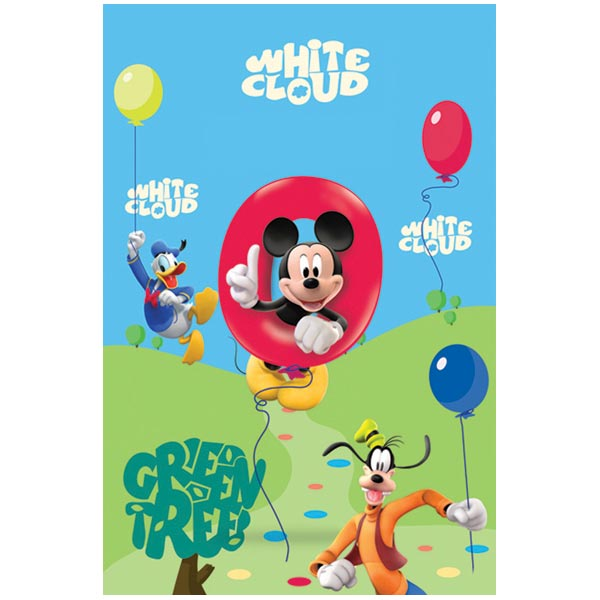 Covor copii Mickey Mouse and Friends model 25 140x200 cm Disney imagine