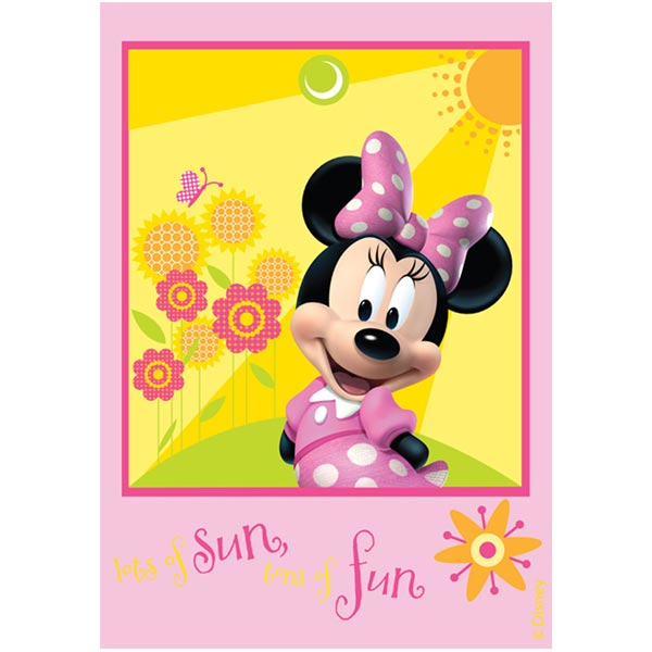 Covor copii Minnie Mouse model 22 160x230 cm Disney