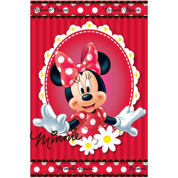 Covor copii Minnie Mouse model 82 140x200 cm Disney imagine