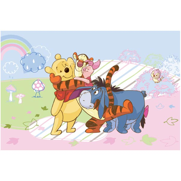 Covor copii Play Pooh model 51171 160x230 cm Disney