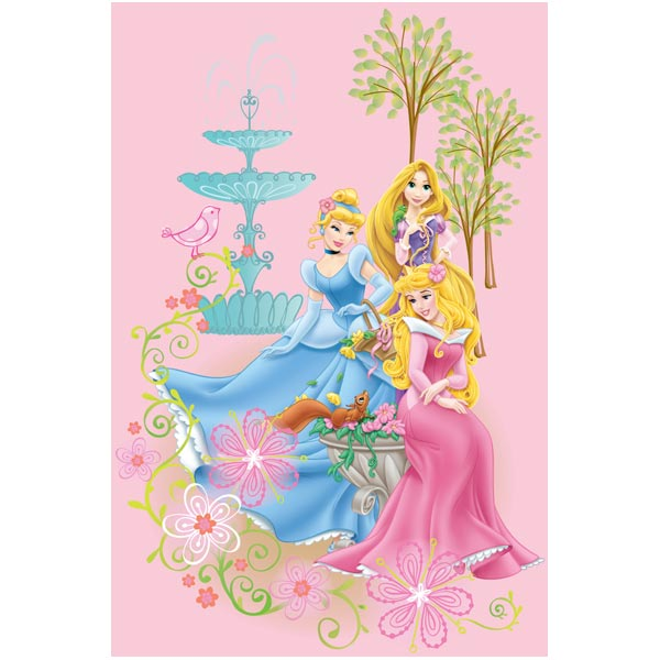 Covor copii Princess model 110 140x200 cm Disney imagine