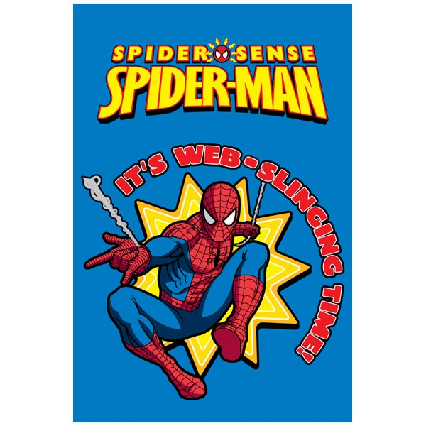 Covor copii Spiderman model 951 140x200 cm Disney imagine