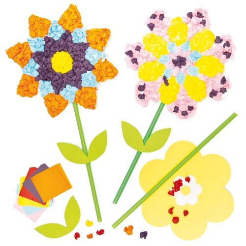 Set creativ - Flori din servetele