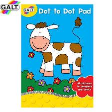Dot to dot pad