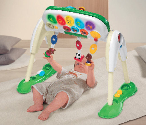 Jucarie Chicco Playgym Deluxe 3 in1