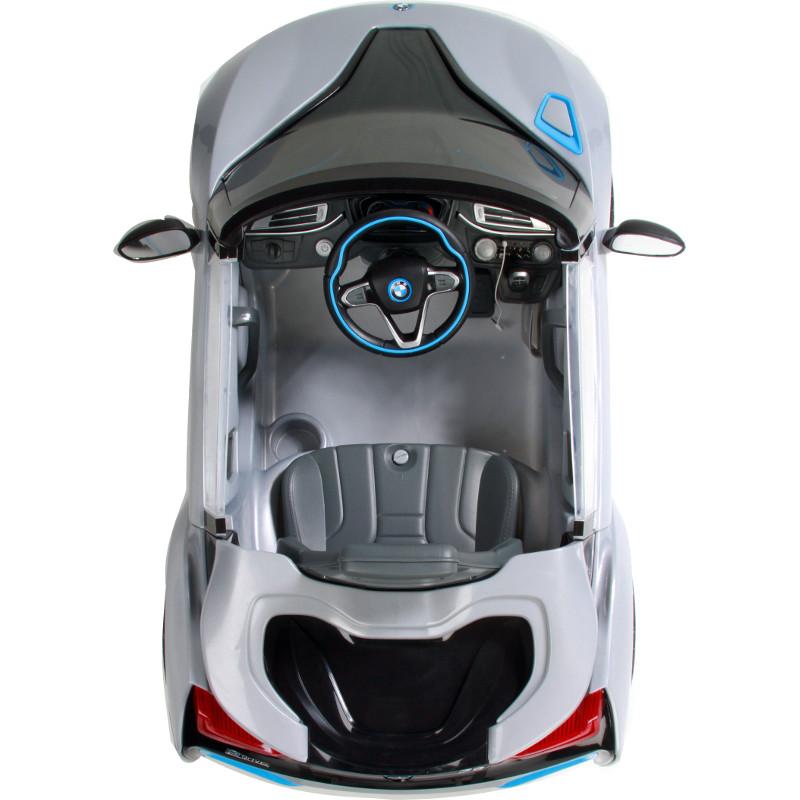 Masinuta electrica BMW I8 Gri cu telecomanda