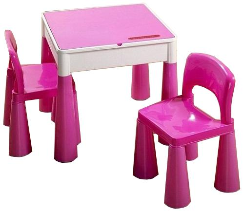 Masuta Mamut cu 2 scaunele Mov