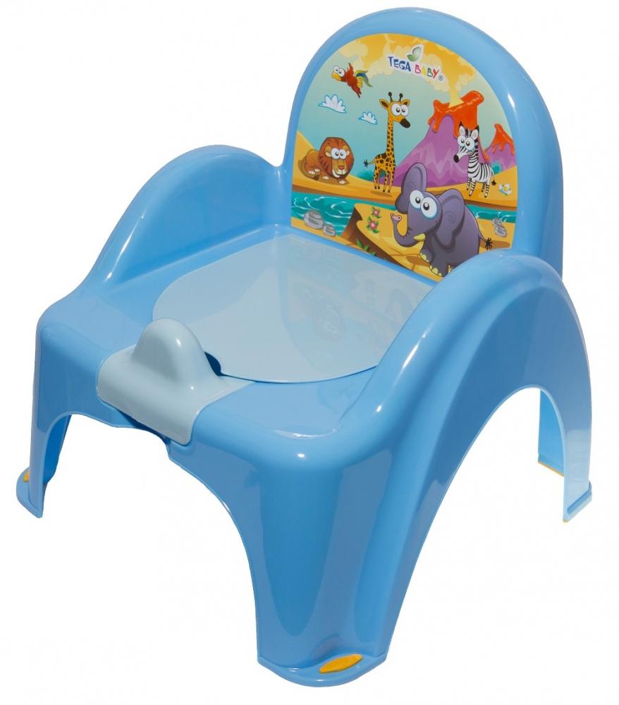 Mini toaleta muzicala Safari Albastra