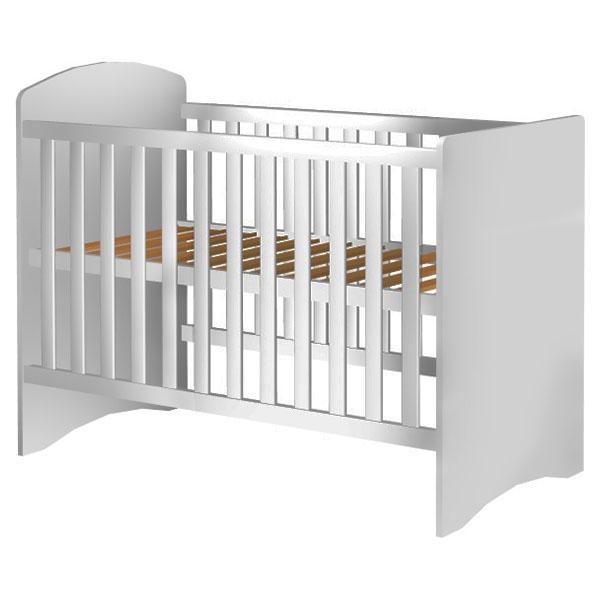 Patut copii din lemn Anne 120×60 cm alb din categoria Camera copilului de la Hubners