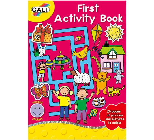 Prima carte de activitati First Activity