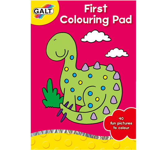 Prima carte de colorat First Colouring P