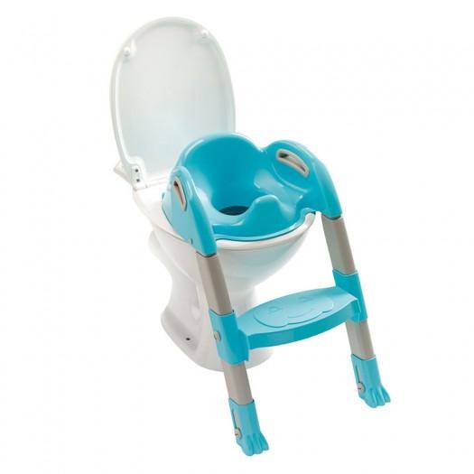 Reductor pentru toaleta cu scarita Kiddyloo Turcoaz
