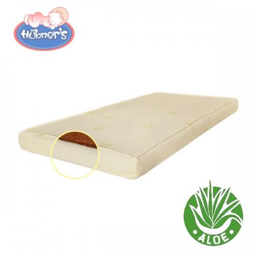 Saltea pentru copii Cocos Confort cu Aloe Vera 120x60x8 cm