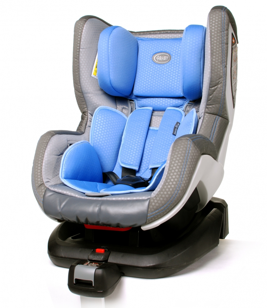 Scaun auto cu isofix 4Baby Neo-Fix Albastru