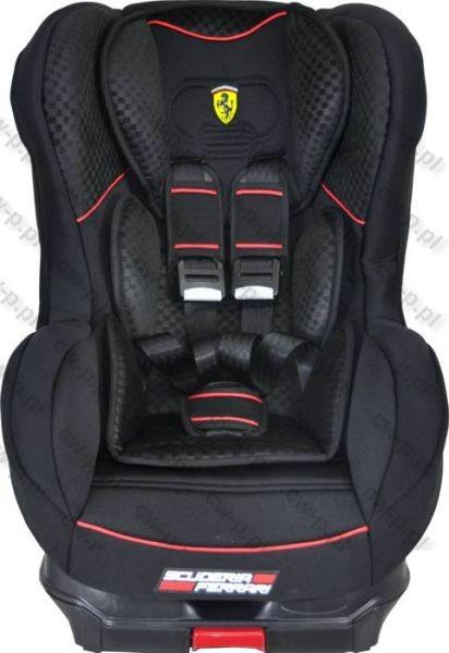 Scaun auto Cosmo SP Isofix Ferrari black
