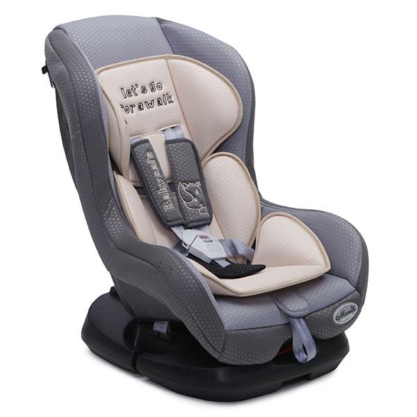 Scaun auto Moni Babysafe 0-18 kg Bej