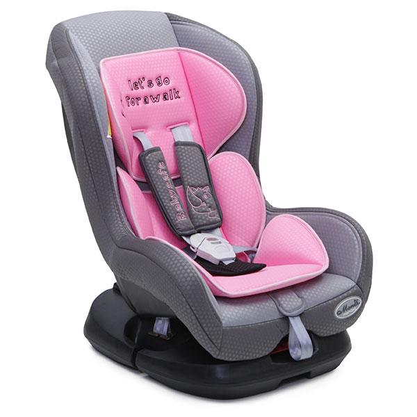 Scaun auto Moni Babysafe 0-18 kg Roz