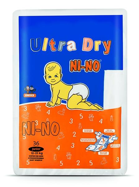Scutece copii Nino Junior 5 (12-25 kg) 36 buc