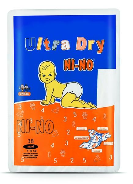 Scutece copii Nino Maxi 4 (7-16 kg) 38 buc