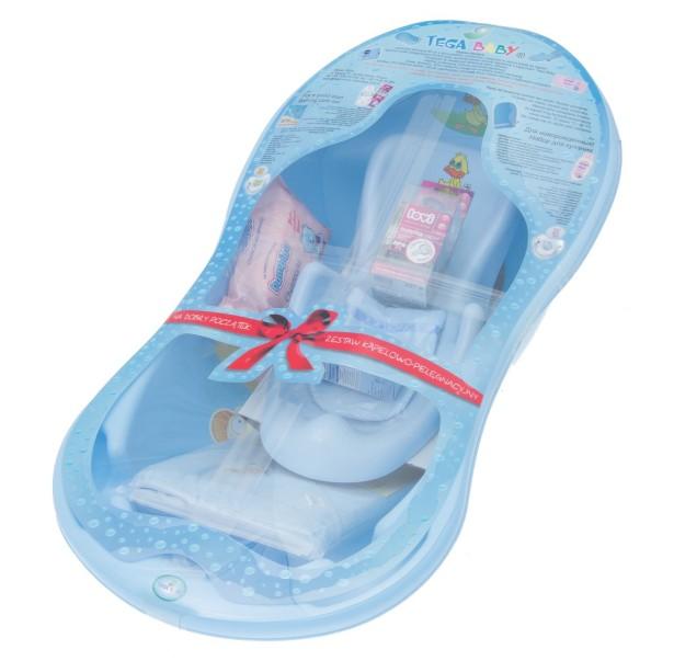 Set de baie si igiena Tega Baby Albastru